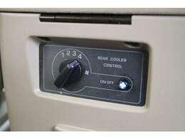 リアクーラー装備☆暑い季節でも快適にドライブをお楽しみいただけます♪