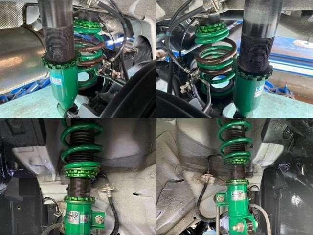 ☆TEIN「FLEX Z」車高調付き!車内から減衰力の調整が可能です!