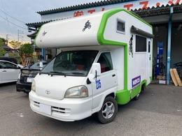 トヨタ タウンエーストラック キャンピング 4WD キャンピング 6人乗り