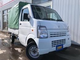 スズキ キャリイ 660 KCエアコン・パワステ 3方開 4WD 幌付 積載350キロ