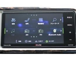 イクリプス製7インチSDナビ!!!!!フルセグ・CD/DVD再生・Bluetooth接続も可能です