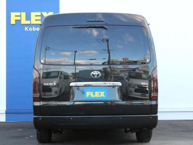 ハイエース(レジアスエース)、リノカ、グランエースをお探しならまずはFLEX神戸店へ! 神戸店展示車両は勿論、全国のFLEXが保有するハイエースの中から貴方にぴったりの一台をお探し致します!
