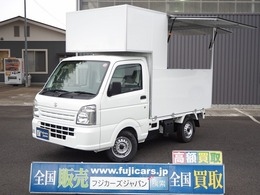スズキ キャリイ 660 KCエアコン・パワステ 3方開 新規架装 移動販売車 キッチンカー