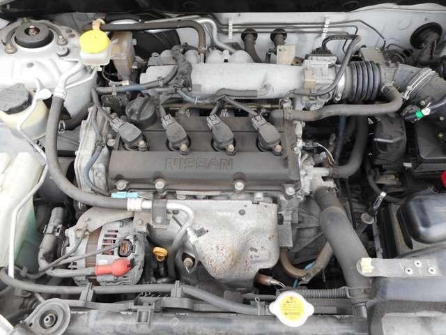 綺麗なエンジンルームです!無修復歴車!Tベルチェーン式!