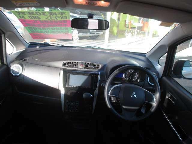 水平基調な為路面状況を確認しやすく安心して運転することができます!