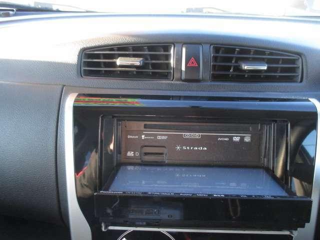 カーナビ開口部、CD挿入口