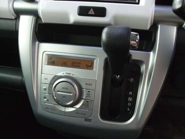 インパネCVT車です。