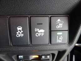 VSA(横滑り制御装置)付きで滑りやすい所でも安心して走れます!!