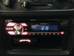 ☆社外オーディオ(DEH-380)ラジオ、CD、AUX