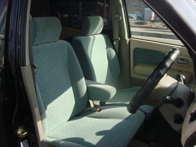 フロントシートです!