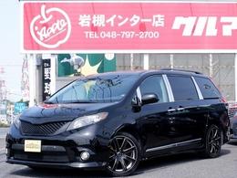 米国トヨタ シエナ SE 新車並行 地デジナビ