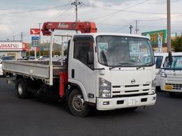 日産 アトラス ユニック4段クレーン 積載量3.75t