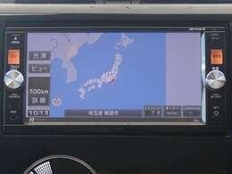 純正メモリーナビ(MP314D-W)付だから初めての場所へのお出かけも安心。地デジTVが見られDVDが再生出来ます。