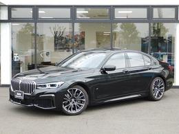 BMW 7シリーズ 740i Mスポーツ デモカーLCI黒革20AWサンルーフLEDシートH