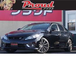 トヨタ マークX 2.5 250G Sパッケージ リラックスセレクション ヴェルティガ BTナビ/フルセグ/ETC/電動席/社外AW/