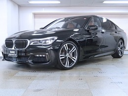 BMW 7シリーズ 740i Mスポーツ コニャック革 リモートパーキング 20AW