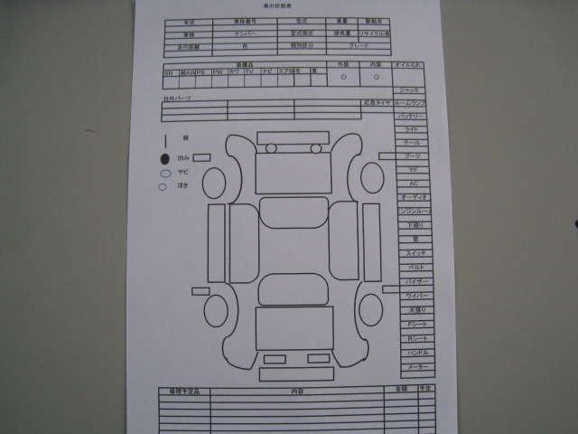 Bプラン画像:☆ご成約が決まりましたら即座にお車の機関の点検・外装チェック・破損部品の確認・修理予定の算出などを行います☆お客様に安心して頂けるように一つずつ確認させて頂いております☆