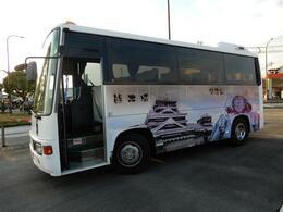 つい最近まで現役の観光バスだったので、外も中もとてもキレイで清掃が行き届いた目玉商品車になっています♪