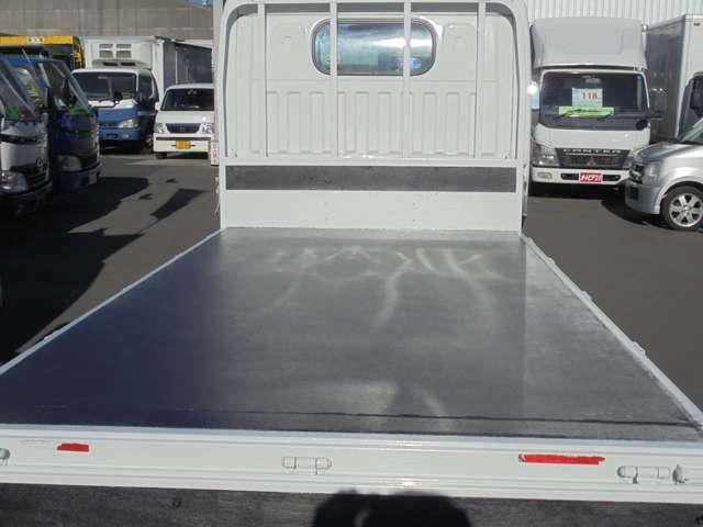 荷台鉄板張り・三方開・内寸約310×160