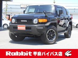 トヨタ FJクルーザー 4.0 ブラックカラーパッケージ 4WD ワンオーナー純正ナビBカメラ4WD