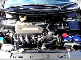 2.4L DOHC i-VTECエンジン◎走行性能も申し分なし!内燃機関の調子も問題無く状態良好でございます♪