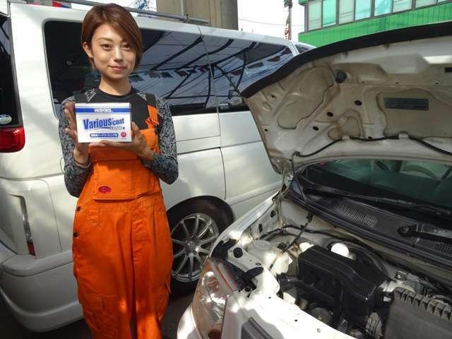 Bプラン画像:添加剤 お車にコ-ティング致します。約1年効果有ります。詳しくはスタッフまで。