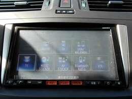 フルセグTV・CD&DVD再生・CD録音・ブルートゥース機能がついてます