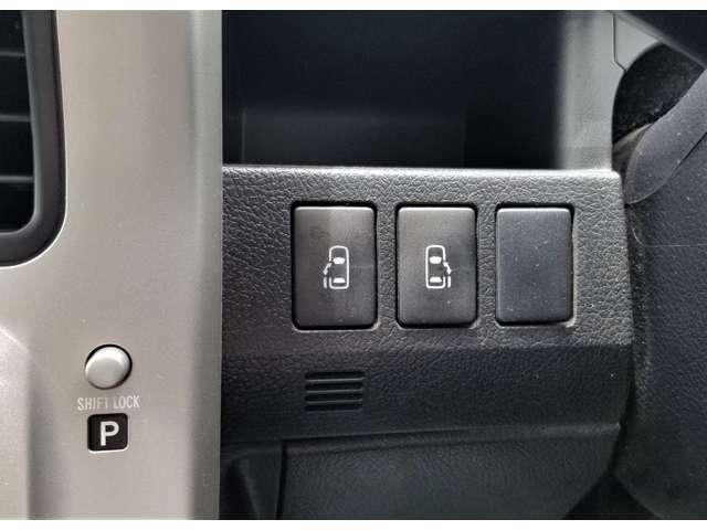 両側パワースライドドアは手元のスイッチでも開閉が出来ます!