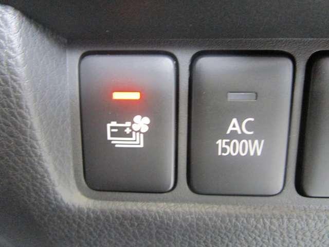 予防安全機能や100V AC電源(最大1500W)やヘッドアップディスプレイなど充実装備