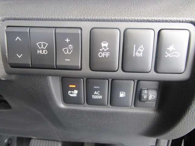 衝突被害軽減ブレーキ 車線逸脱警報 ハンドルヒーター 前後誤発進抑制機能、後方車両検知警報システムを装備しています。