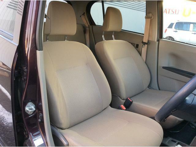 運転しやすいシートポジション。