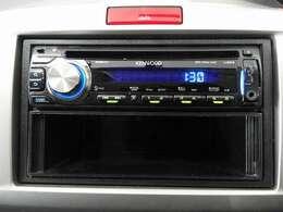 【オーディオ機能】CDプレーヤーを装備、更にAUX端子付ですので音楽プレーヤー接続も可能です♪もちろんFM/AMラジオもお聞きいただけますよ♪