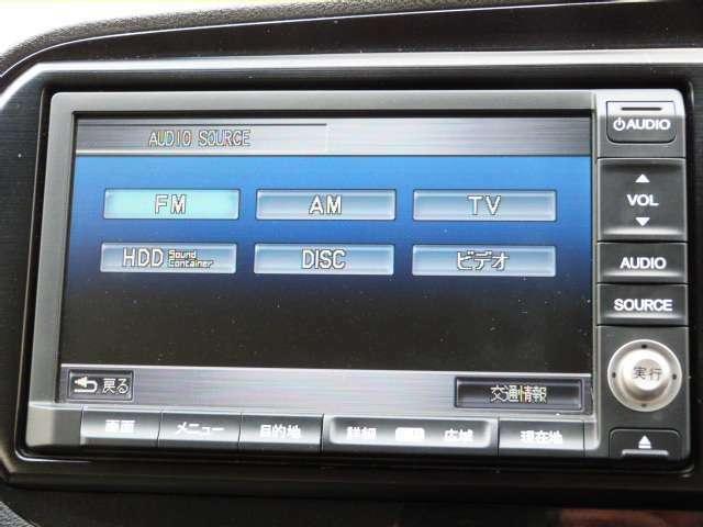 CD・DVD・フルセグTV・サウンドコンテナとオーディオ機能満載です!