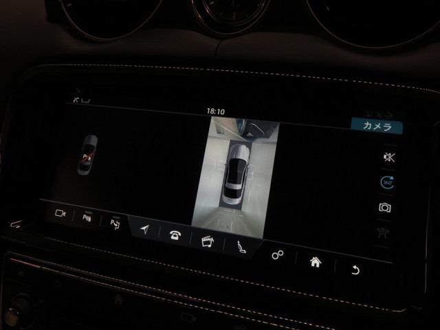 サラウンドカメラシステム(¥128,000-)「セダンに360°サラウンドカメラが付いている車輛は珍しく上空から見たような映像を確認しながら運転することが出来ます。」