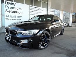BMW M3セダン M DCT ドライブロジック 認定中古車保証付き