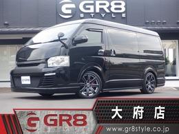 トヨタ ハイエース 2.7 GL ロング ミドルルーフ GIBSONフルエアロ ベッドキット 19AW