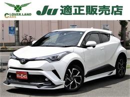 トヨタ C-HR 1.2 G-T 4WD ターボ/TRDエアロ/黒革/セーフティセンス