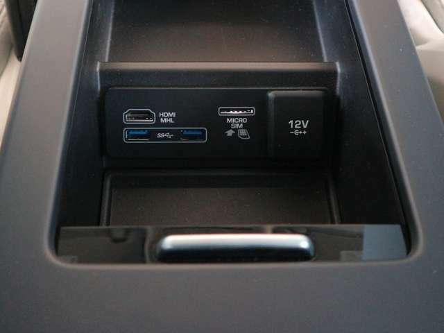USBポート・HDMI端子・Wi-Fi SIMスロット