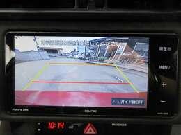 純正SDナビ付き♪ ガイド線付バックカメラで駐車も安心ですね♪ 広角のカメラを使用しております♪