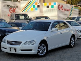 トヨタ マークX 2.5 250G パワーシートキーレスアルミ