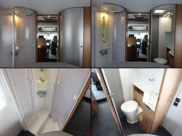 セパレートシャワー・トイレルーム
