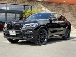 BMW X4 xドライブ30i Mスポーツ 4WD 1オナ フィオナレッド革 ブラックAW HUD
