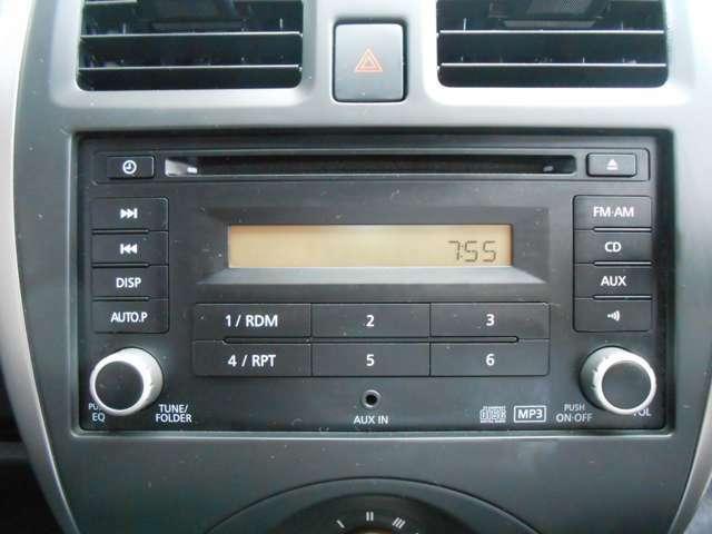 CD/AM/FMラジオオーディオ