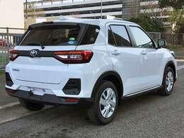 新車未登録 トヨタ ライズ XSグレードの紹介です