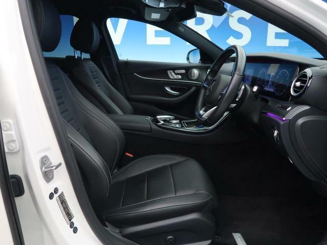 ●ナッパ革シート:ブラック●パワーシート●全席シートヒーター『ゆったりとしたドライバースペースで、長時間の運転でも快適にお過ごしいただけます。』