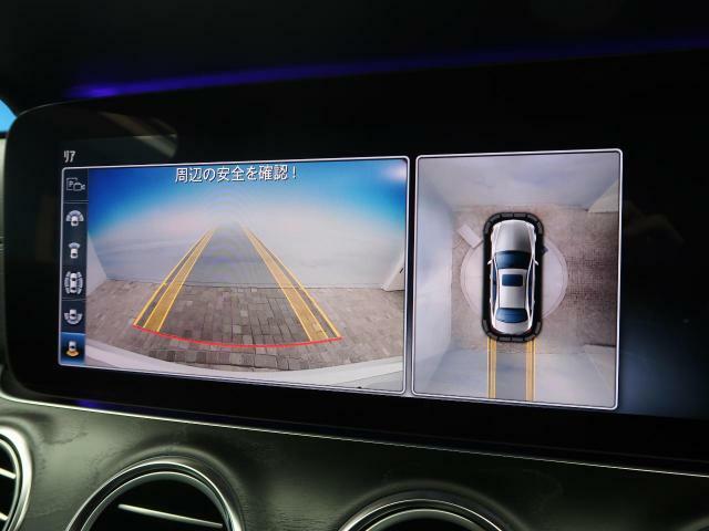 ●レーンアシスト付き全周囲カメラ:不安な駐車もこれで安心!レーンアシスト付きなので狭い箇所での駐車もラクラクです!