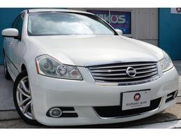 日産 フーガ 3.5 350GT 本革エアシート純正HDDナビバックモニ