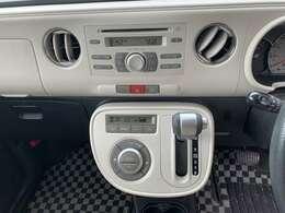純正CDデッキと暑い夏でも、寒い冬でも快適にしてくれる車内エアコンを装備しております。さらにAUTOエアコン付!!自動で快適な温度を保ってくれます!