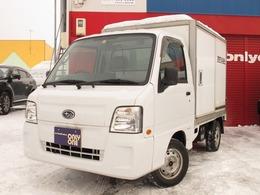 スバル サンバートラック 660 TB 三方開 4WD 箱車・エアコン・パワステ・走行3.8万km