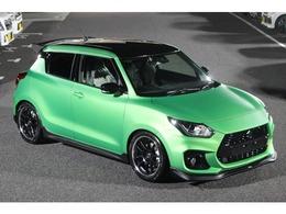 スズキ スイフト スポーツ 1.4 セーフティパッケージ装着車 グリーンヘルマグノ ナラスズキSP